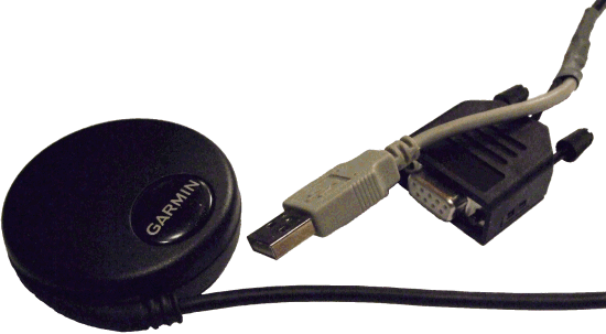 Garmin GPS with USB and RS232 connector
